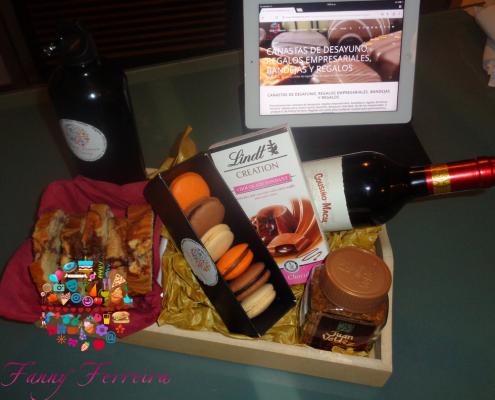 Canastas de desayuno regalos empresariales paraguay Fanny Ferreira