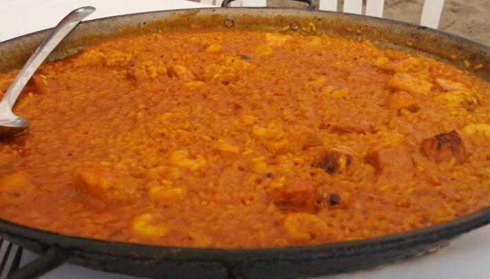 paella fanny ferreira catering luque paraguay
