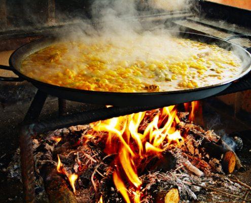 fanny ferreira catering y eventos paella de verduras
