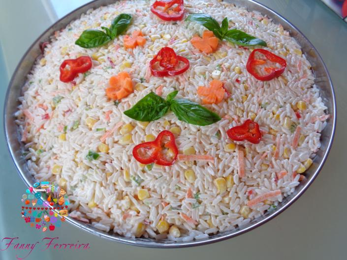 Ensalada de arroz paraguaya Fanny Ferreira