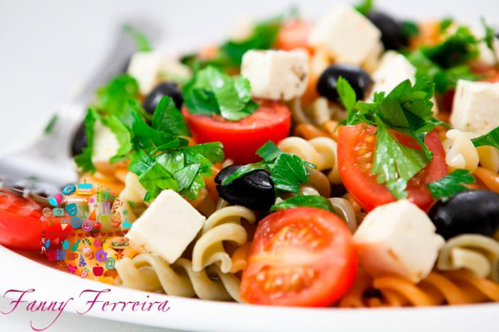 ensalada de pasta italiana Fanny Ferreira