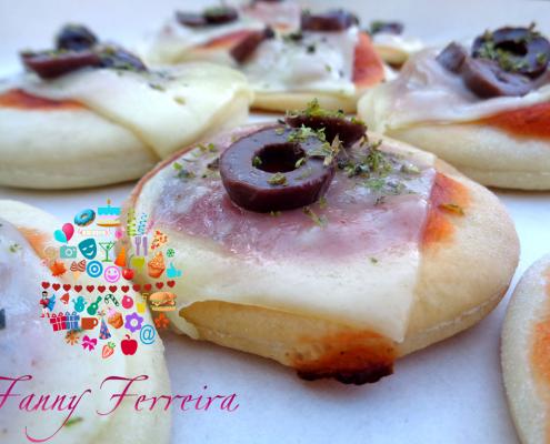 mini pizzas bocaditos salados paraguay fanny ferreira