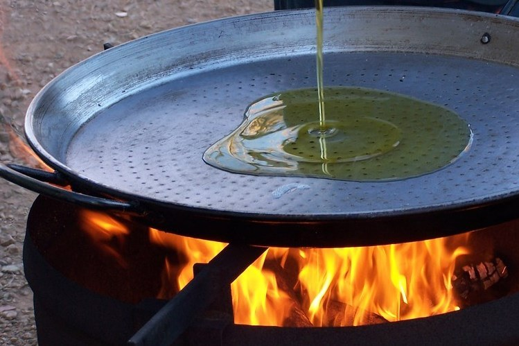 paellera show cooking fanny ferreira