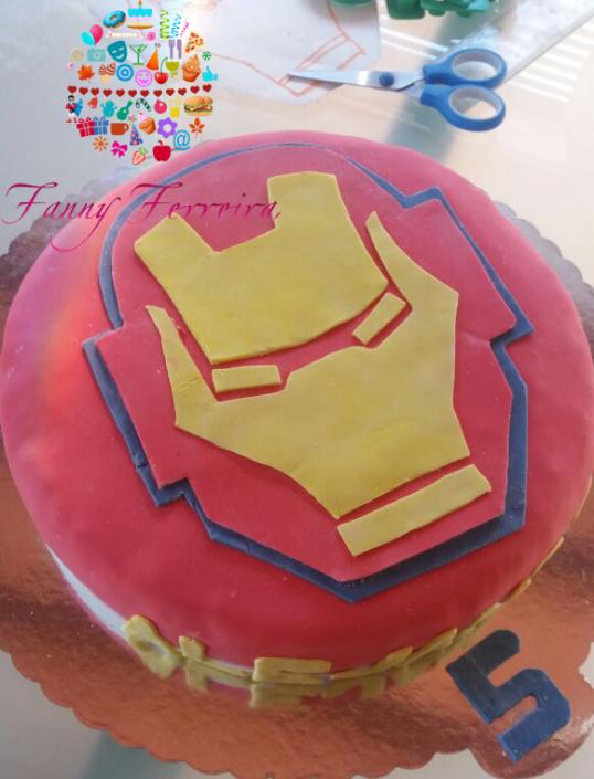 torta ironman fanny ferreira