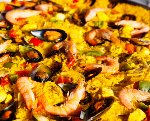 La paella de juan a domicilio simple y riqu sima la for Delivery asuncion