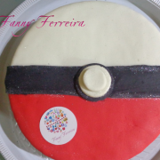 Torta pokeball Fanny Ferreira