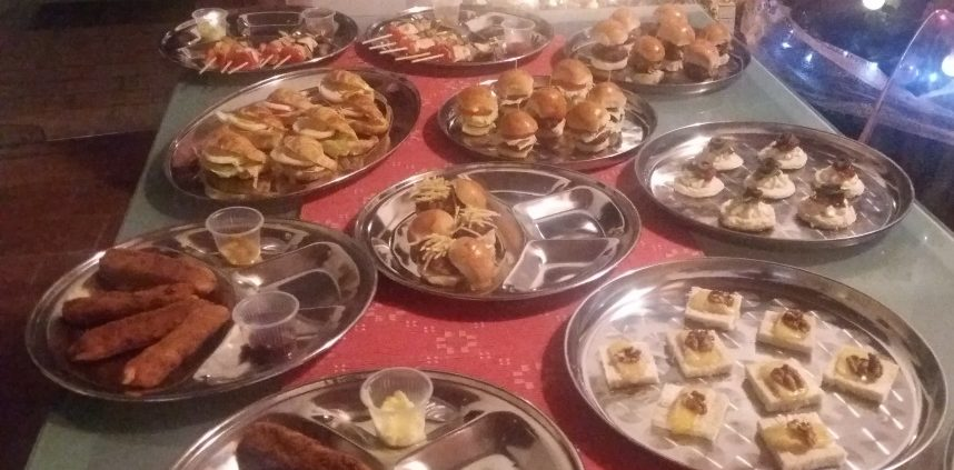 Bocaditos salados canapes especiales gourmet Paraguay