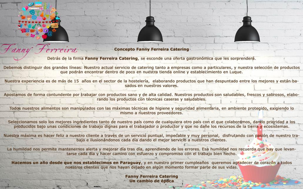 Cumpleaños Fanny Ferreira Catering