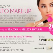 Fanny Ferreira Catering auspicia curso de auto make up