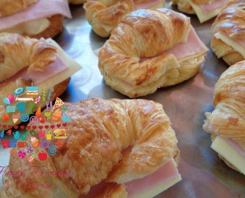 croissant de jamon y queso bocaditos salados fanny ferreira