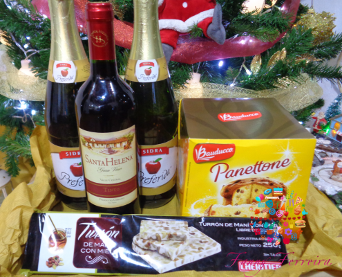 Canasta de Navidad Fanny Ferreira Catering Paraguay