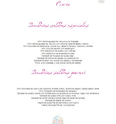 Fanny Ferreira Catering & Eventos en la Embajada de Francia con bocaditos gourmet.