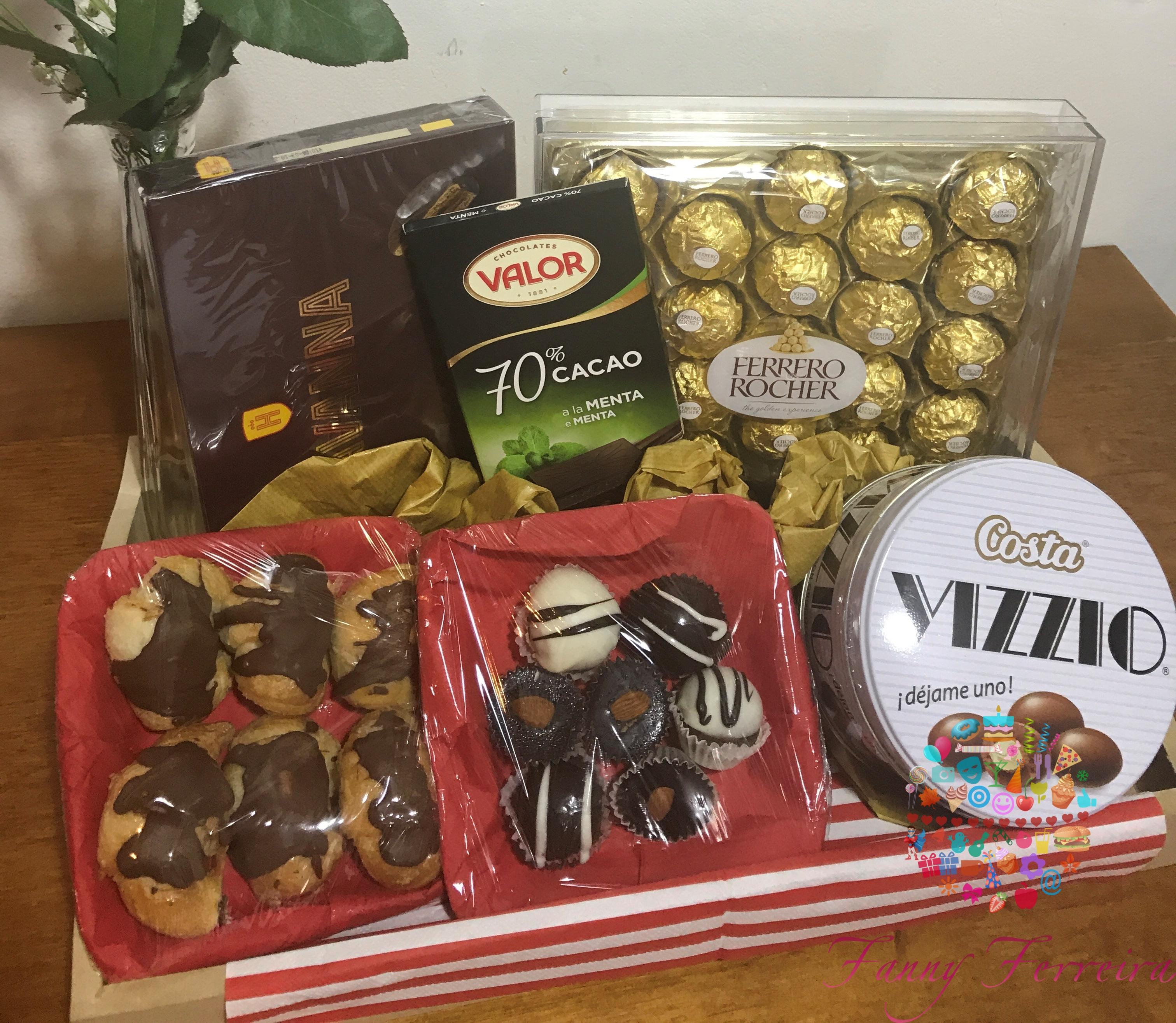 Fanny Ferreira Canasta de desayuno Quiero Chocolate