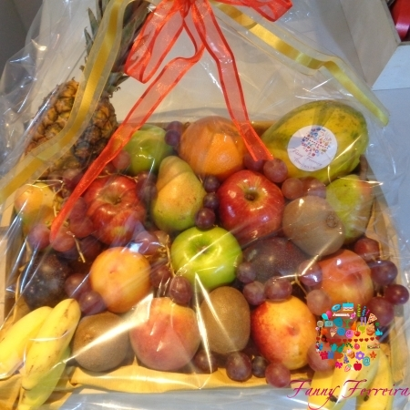 Canasta de fruta Coffe Break Desayuno Business Fanny Ferreira Catering