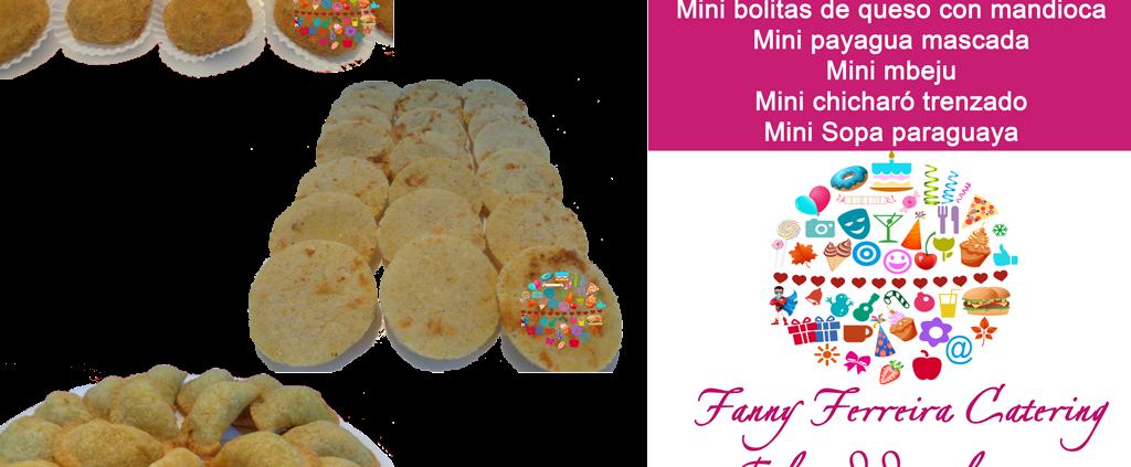 Bocaditos tipicos paraguay Fanny Ferreira Catering