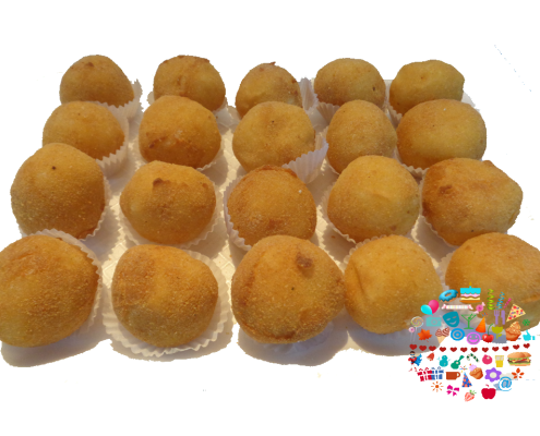 Bocaditos tipicos Paraguay Mini bolita de queso con mandioca Fanny Ferreira Catering