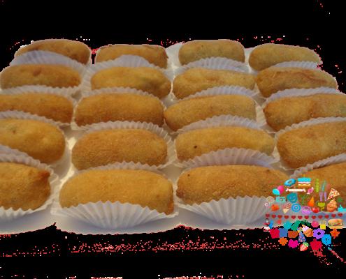 Bocaditos tipicos Paraguay Mini croqueta carne mandioca Fanny Ferreira Catering