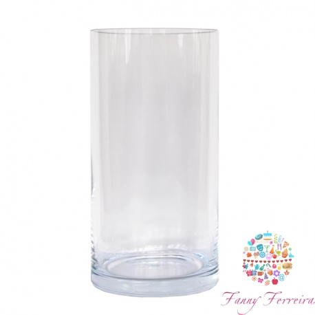 Jarrón de cristal Fanny Ferreira Catering