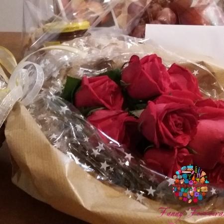 Regalo ramo de rosas Fanny Ferreira Catering