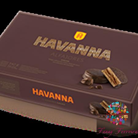 6 alfajores Habanna Cacao