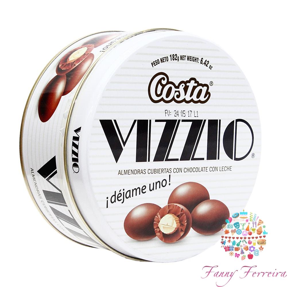 Almendras con chocolate VIZZIO 200 gr.
