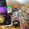 Canasta de desayuno fit Fanny Ferreira Catering