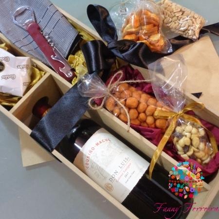 Caja de regalo Felicidades papi Fanny Ferreira