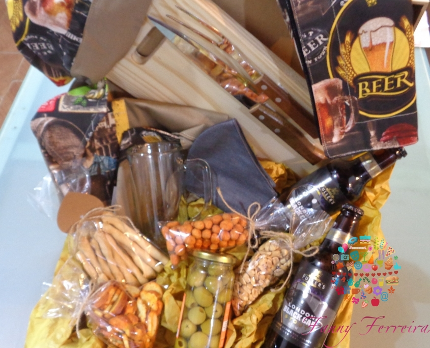 canasta de regalo parrillera cervecero Fanny Ferreira